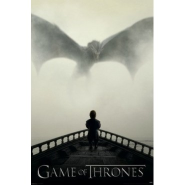 Affiche Poster Plastifié GAME OF THRONES DRAGON