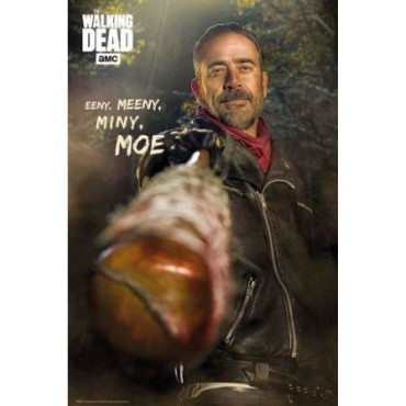 Affiche Poster Plastifié THE WALKING DEAD MOE