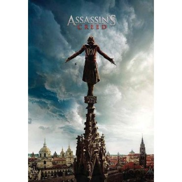 Affiche Poster Plastifié ASSASSIN'S CREED TOIT