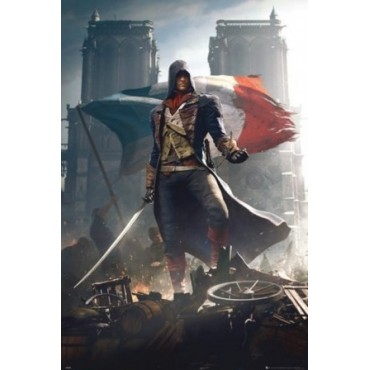 Affiche Poster Plastifié ASSASSIN'S CREED