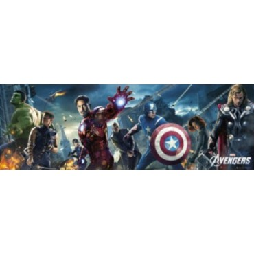 Affiche Poster Plastifié MARVEL COMICS THE AVENGERS