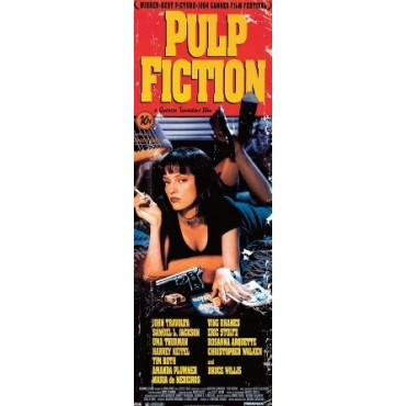 Affiche Poster Plastifié PULP FICTION