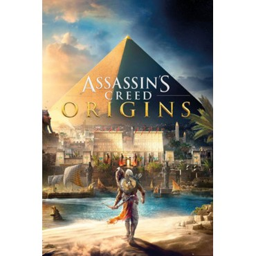Affiche Poster Plastifié ASSASSIN'S CREED ORIGINS MAXI FORMAT