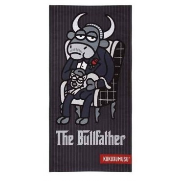 Serviette de bain Drap de plage THE BULLFATHER KUKUXUMUSU