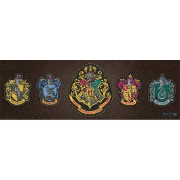 Affiche Poster Plastifié HARRY POTTER CRESTS
