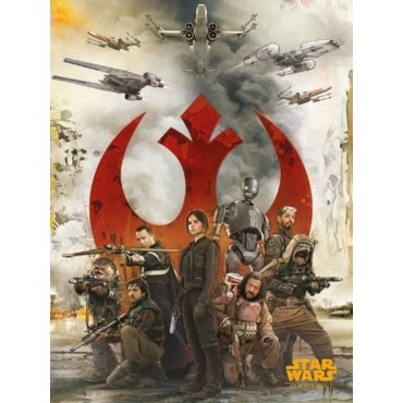 Affiche Poster Plastifié STAR WARS ROGUE ONE