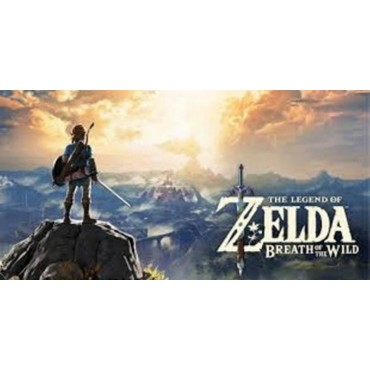 Affiche Poster Plastifié NINTENDO THE LEGEND OF ZELDA BREATH OF THE WILD 2ÈME MODÈLE