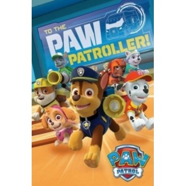 Affiche Poster Plastifié PAW PATROL TO THE PAW PATROLLER