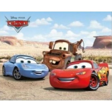 Affiche Poster Plastifié DISNEY CARS BEST FRIENDS